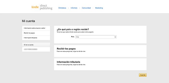 Amazon-KDP-configurar-cuenta-1